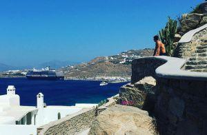 Juliana Paes aposta em vestido fendado e exibe corpo enxuto na Grécia. Fotos!