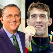 Olimpíada Rio 2016: Galvão Bueno critica Michael Phelps. 'Não dá entrevista'