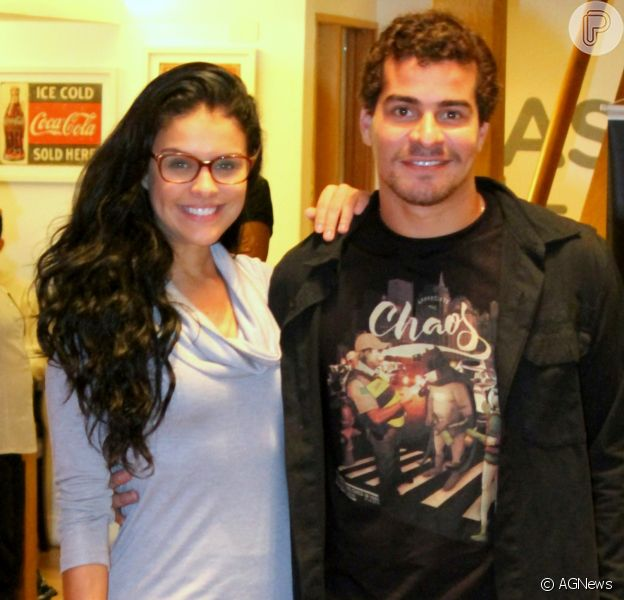 Paloma Bernardi e Thiago Martins vivem crise no namoro