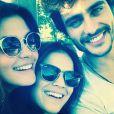 Guilherme Leicam gravou 'Em Família' com Bruna Marquezine e elenco da trama em Goiás
