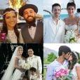 Mateus Liduário, Wesley Safadão, Isabeli Fontana e Felipe Simas são alguns dos famosos que se casaram em 2016