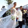 A top Ana Beatriz Barros se casou na grécia com o empresário egípcio Karim El Chiaty. A festa, de tradições árabes, começou no dia 07 de julho de 2016 e durou por dois dias, com direito à presença de muitos famosos