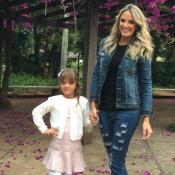 Ticiane Pinheiro vai a piquenique com a filha, Rafaella Justus: 'Princesinha'