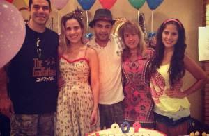 Wanessa faz outra festa só com a família para comemorar os 30 anos