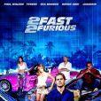 Cartaz de '+Velozes + Furiosos', lançado em 2003. Sem Vin Diesel, ele brilhou ao lado de Tyrese Gibson e Eva Mendes