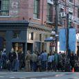 Set de filmagem de '50 Tons de Cinza', em Vancouver, no Canadá, filme estrelado por Dakota Johnson e Jamie Dornan