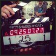 E.L. James, autora de '50 Tons de Cinza', publicou em seu Twitter o início das filmagens do longa, nesta segunda-feira, 2 de dezembro de 2013