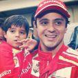 Felipinho Massa, filho do piloto Felipe Massa, comemorou aniversário nesta segunda-feira, 2 de dezembro de 2013