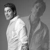 Junno Andrade, namorado de Xuxa, posa com camisa aberta em ensaio fotográfico