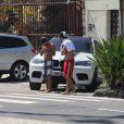 Caio Castro foi flagrado pelos fotógrafos, nesta quinta-feira, 5 de dezembro de 2013