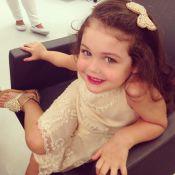 Maysa, filha de Jayme Monjardim e Tânia Mara, tem dia de beleza com Celso Kamura