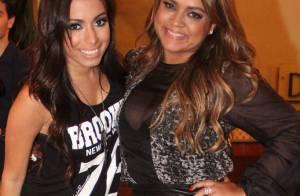 Anitta e Preta Gil jantam juntas após gravarem 'Sai do Chão', da TV Globo