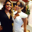 Preta Gil participou do programa 'Sai do Chão' apresentado por Anitta
