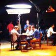 O comercial foi gravado em um estúdio em São Paulo