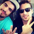 Rodrigo Andrade e Caio Castro pretendem dar festinhas após as gravações de 'Amor à Vida', em17 de dezembro de 2013