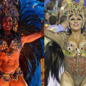 Gracyanne Barbosa e Patricia Nery disputam cargo de rainha de bateria da Portela
