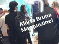 Bruna Marquezine retorna para o Brasil após dez dias com Neymar na Espanha