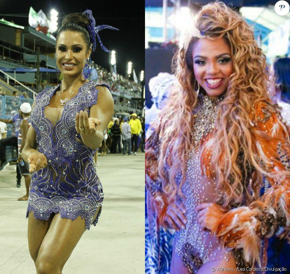 Gracyanne Barbosa foi preterida por Bianca Monteiro como rainha de bateria da Portela no Carnaval 2017, informou a escola