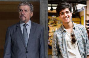 Novela 'A Lei do Amor': Edu discute com Tião e foge para a casa de Pedro