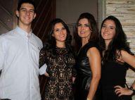 Fátima Bernardes festeja aniversário de 19 anos dos filhos. Veja foto e vídeos!