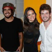 Caio Castro lembra ter provocado ciúmes de Maurício Destri com Bruna Marquezine