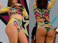 Anitta deixa bumbum à mostra durante show em parque de São Paulo