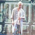 Justin Bieber se irritou com fãs durante um show no palco do Manchester Arena, na Inglaterra