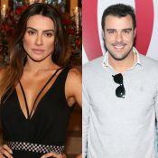 Cleo Pires e Joaquim Lopes são vistos em clima de romance em festa no Rio