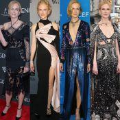 Relembre looks de Nicole Kidman, eleita ícone de estilo no InStyle Awards. Fotos