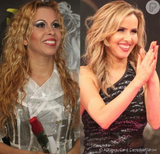 Joelma aprovou as comparações com Leona Cavalli no quadro 'Dança dos Famosos', do 'Domingão do Faustão'
