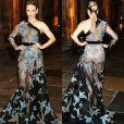 O vestido supertransparente Elie Saab usado por Rachel McAdams na première do filme 'Doutor Estranho' não tinha lingerie à mostra