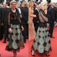 No Festival de Cannes, Kristen Stewart parece ter dispensado o uso de lingerie por baixo do look Chanel