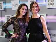Fátima Bernardes leva a filha Beatriz, de 19 anos, a premiação no Rio. Fotos!