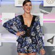 A atriz Adriana Birolli apostou em um look Marie Art Brand e brincos H.Stern