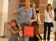 Grazi Massafera, em folga de 'A Lei do Amor', passeia com a filha, Sofia. Fotos!