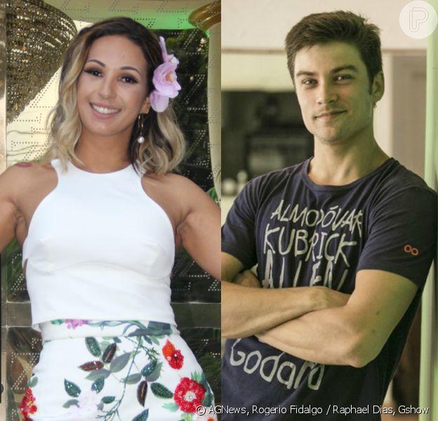 Raphael Sander e Valesca Popozuda trocam beijos quentes em novo clipe da cantora