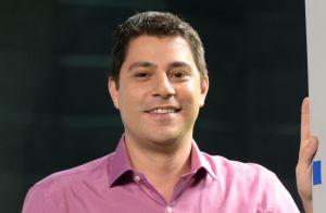Evaristo Costa, fora do 'JH' por conjuntivite, ganha elogios na web: 'Ô colírio'