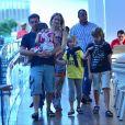 Luciano Huck e Angélica são pais de Joaquim, de 11 anos, Benício, de 8, e Eva, de 4