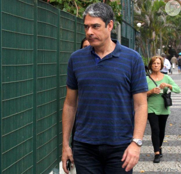 William Bonner participou do segundo turno das eleições no Rio de Janeiro neste domingo, 30 de outubro de 2016