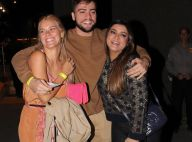 Carolina Dieckmann e Preta Gil prestigiam show de Gilberto Gil após internação