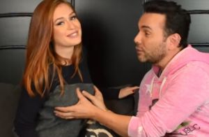 Marina Ruy Barbosa prova a apresentador que não tem silicone nos seios: 'Pega!'
