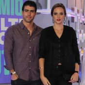 Juliana Paiva relembra 1º presente do namorado, Juliano Laham: 'Coração de rubi'