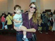 Alinne Moraes admite ser uma mãe tensa com o filho, Pedro:'Rigorosa com rotina'