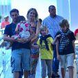 Além de Benício, de 9 anos, Angélica e Luciano Huck também são pais de Joaquim, de 12 anos, e Eva, de 4