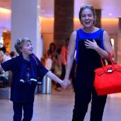 Angélica comemora 9 anos do filho Benício e elogia: 'Menino sensível e corajoso'