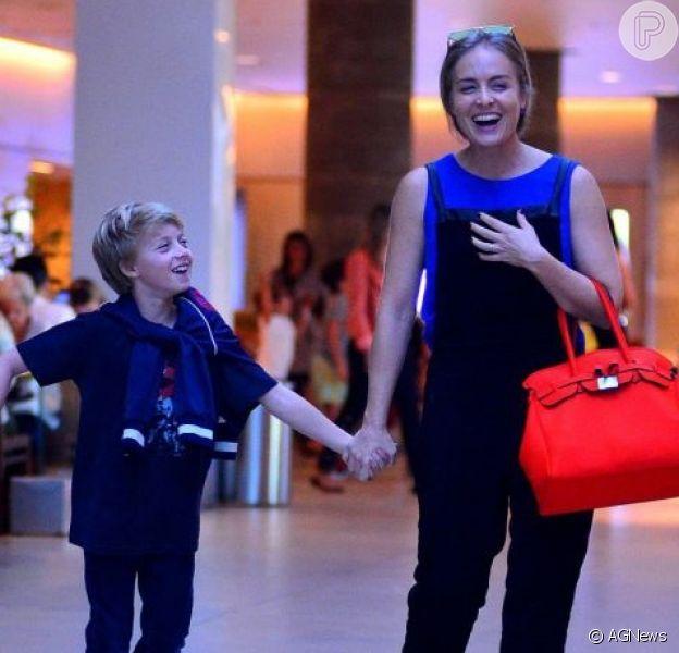 Angélica comemora aniversário de 9 anos do filho Benício nas redes sociais