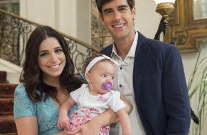Reta final de 'Haja Coração': Shirlei fica grávida e tem uma menina com Felipe