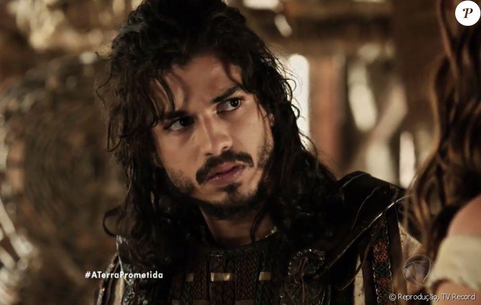 Rune (Douglas Sampaio) se revolta ao ficar paralítico e diz ter vontade de romper o seu casamento com Livana (Letícia Medina), nos próximos capítulos da novela 'A Terra Prometida'