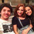 Lorena Comparato será filha de Viviane Araújo e irmã de João Victor Silva na novela 'Rock Story'