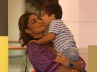 Juliana Paes ganha beijo do filho mais novo em passeio no Rio. Veja Fotos!